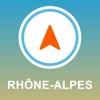 Rhone-Alpes, France GPS - Offline Car Navigation