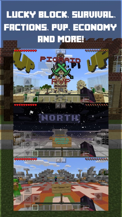 Pro Servers - for Minecraft PE & PC ( Pocket Edition ) Screenshot