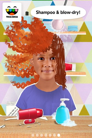Toca Hair Salon Me screenshot 3
