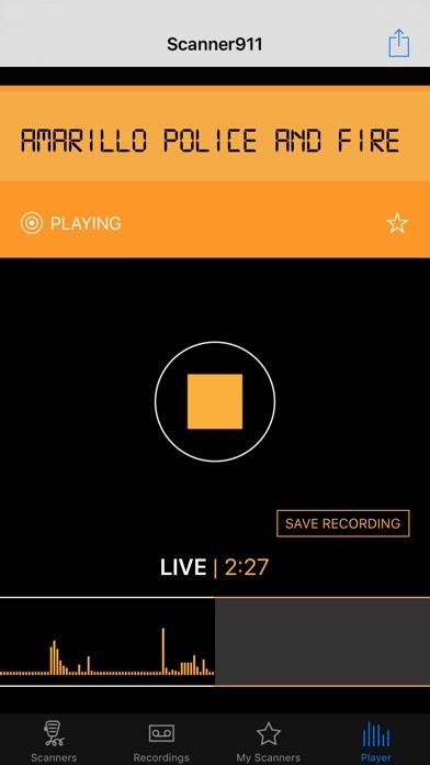 Scanner911 Pro Screenshot