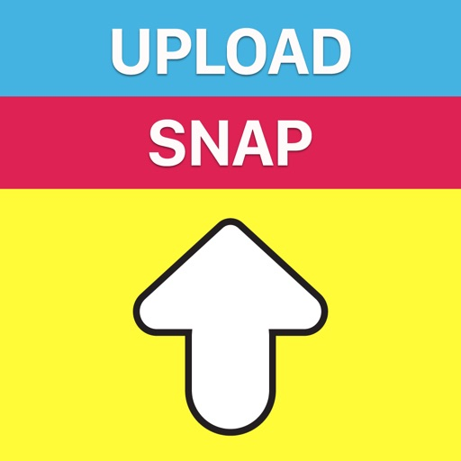 Snap Upload Free for Snapchat: Upload text snap save pics