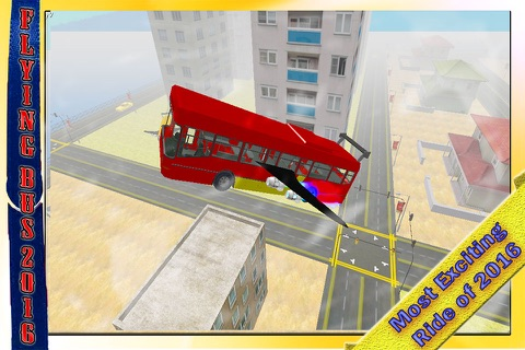 School Bus Jet 2016 – Flying Public Transport Flight with Extreme Skydiving Air Stunts screenshot 2