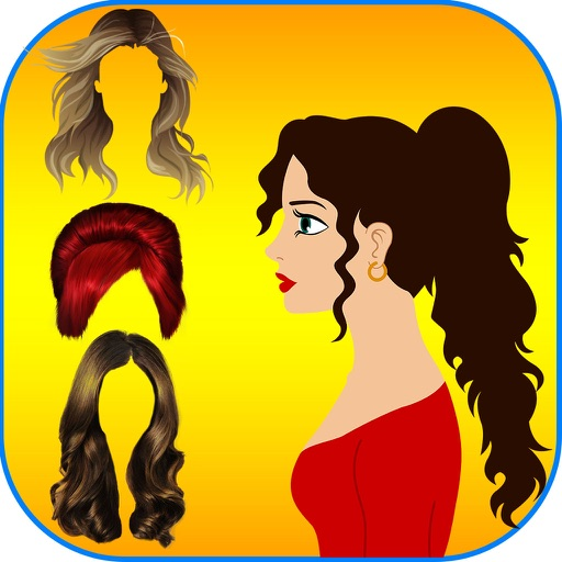 Hairstyles Makeover Booth -  The hair styles collection for christmas and halloween season iOS App