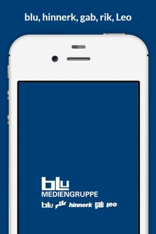 blu, hinnerk, gab, rik, Leo – die Magazine der blu Mediengruppe screenshot 1