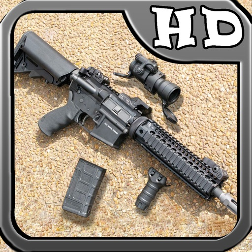 Guns Builder HD - Best Gun Game App iOS App