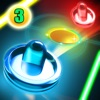 Glow Air Hockey 3: Multiplayer & 3D Xtreme Free