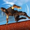 スーパー忍者戦士の障害物コース - クレイジーカンフー訓練学校