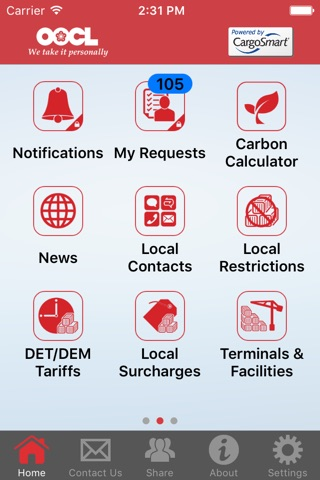 OOCL Lite screenshot 2