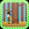 Forest Cutter Game for Kids: Teen Titans Version