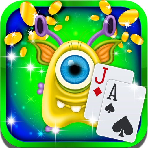 Scary Monster Blackjack: Counting Cards iOS App