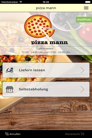 pizza mann Augsburg screenshot 1