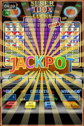 100x Super Lucky Slot Machine screenshot 4