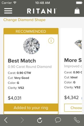 Ritani - A Smarter Way To Buy An Engagement Ring screenshot 4