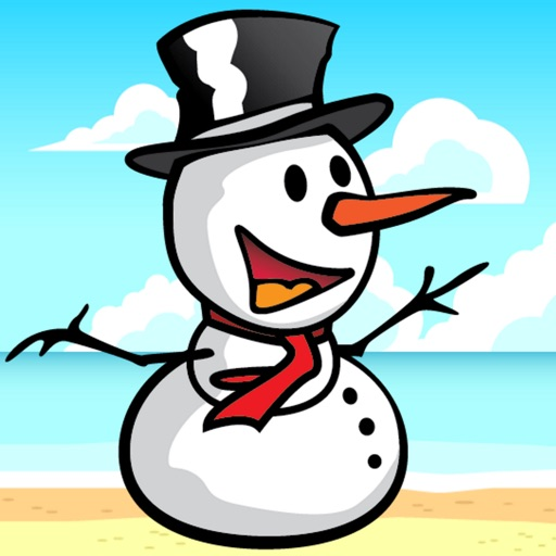 Snowman in Summer - The Jumping Fellow Adventure Game iOS App