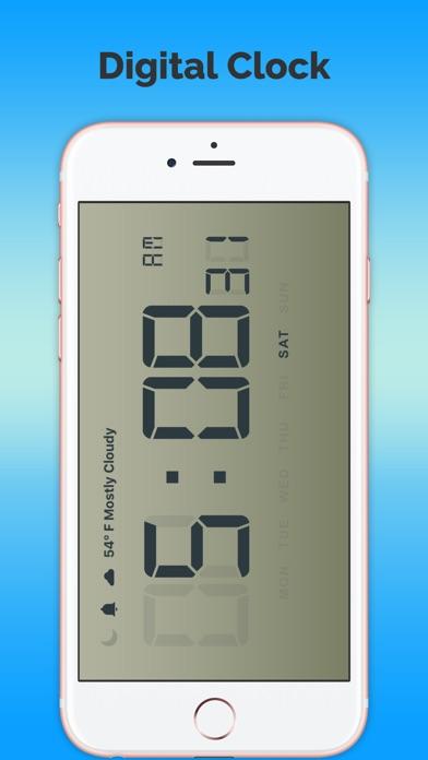 Часы и местного прогноза погоды-FreeСкриншоты 2