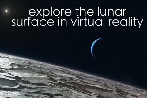 Virtual Reality Moon for Google Cardboard VR screenshot 1