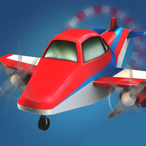 Dr Plane Driving Obstacle Course Training Airpot Free Racing Games iOS App