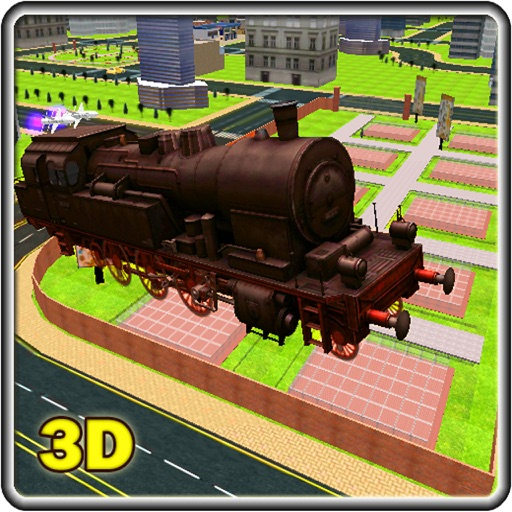 Steam Train 2016 – A Flying Train Conductor World of Supertrains and Skydiving Locomotives iOS App