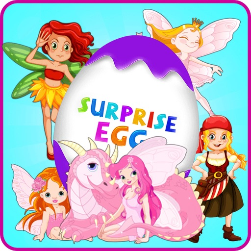 Surprise Eggs Girl Toys iOS App