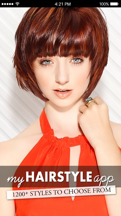 My HairStyle App by Sylvia Forsyth