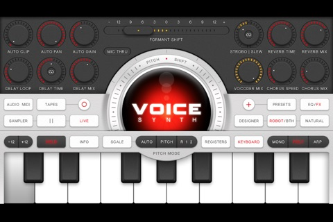 Voice Synth Free screenshot 2