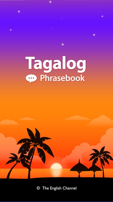 Screenshot for Tagalog Phrasebook & Dict in Indonesia App Store