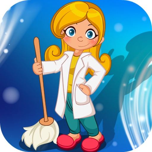Clean Up My Laboratory Room Tiding、fast Sweeping