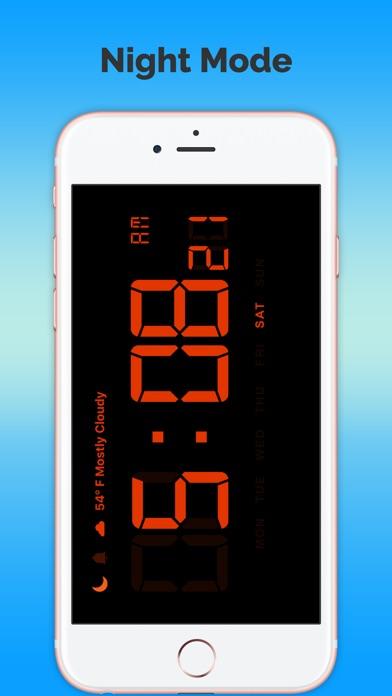 Цифровые часы-ПрогнозСкриншоты 3