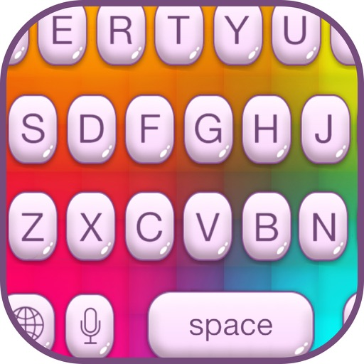 Rainbow Keyboard Changer – Cool Emoji Keyboard.s with Beautiful Color.ful Themes and Fonts iOS App