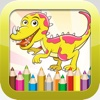 Dinosaur Coloring Book : Educational Color and Paint Games Free For kids and Toddlers
