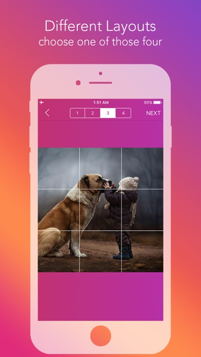 download Griddy Pro - Split Pic in Grids For Instagram Post apps 4