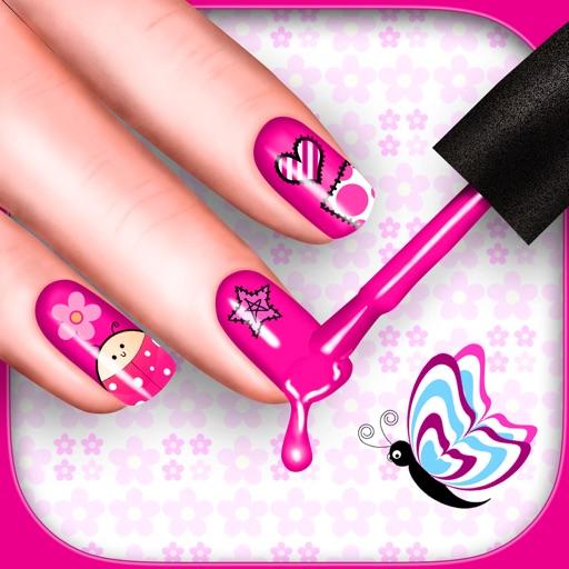 可爱的指甲彩绘改头换面沙龙 – 修指甲游戏温泉同美丽的女孩设计