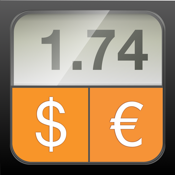 Currency Converter HD: converter + money calculator with exchange rates for 150+ foreign currencies (convert Dollars, Euros and many more!) icon