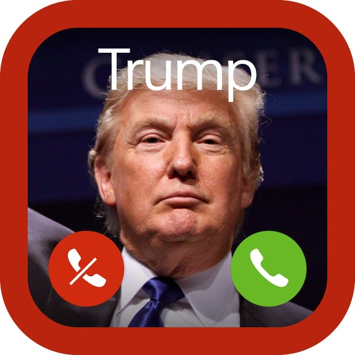 Fake Call from Trump iOS App