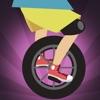 真棒unicyclist跳躍比賽親 - 新的快速跳躍 的賽車遊戲