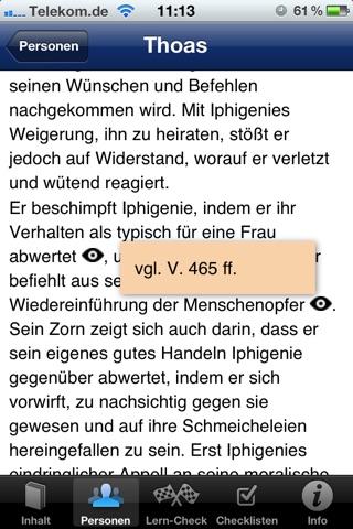 EinFach Deutsch … verstehen - Iphigenie auf Tauris screenshot 2