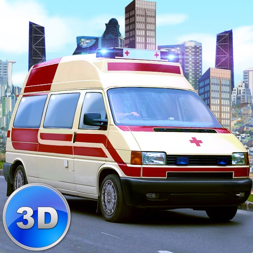 Ambulance Driving Simulator 3D iOS App