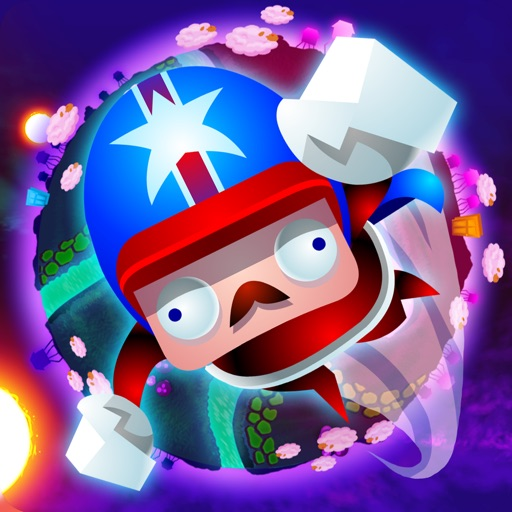 Galaxy Cannon Rider iOS App