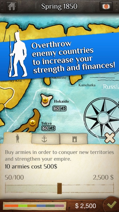 Empires II: What Would You Risk for World Conquest? Screenshot