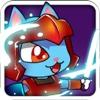 Battle Cat Vs Shape World - Run From The Blocky World