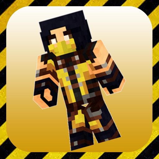 MK Skins for Minecraft PE Free iOS App