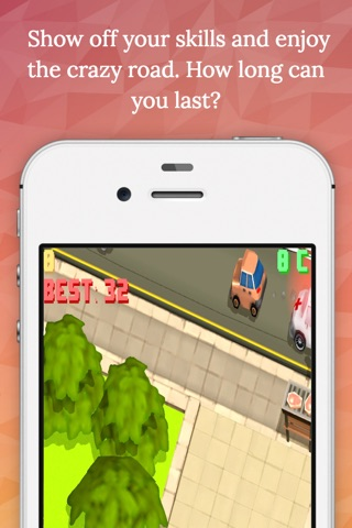 Crazy Road - Endless Arcade Game screenshot 2