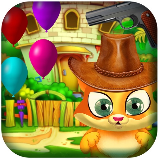 Balloon Cat - cat shooting simulator iOS App