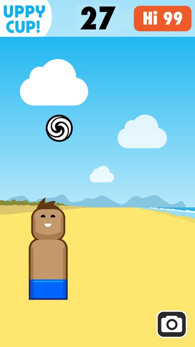 Screenshot of Uppy Cup - Non far cadere il pallone!5