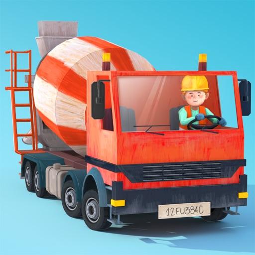 Little Builders - Truck, Crane & Digger for Kids