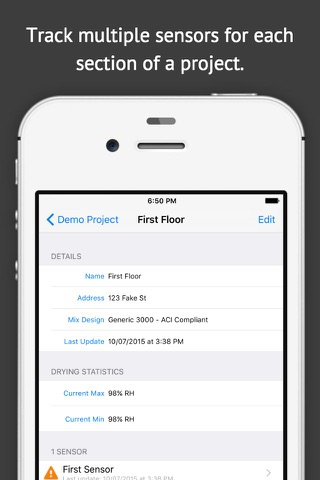 Concrete Sensors screenshot 2