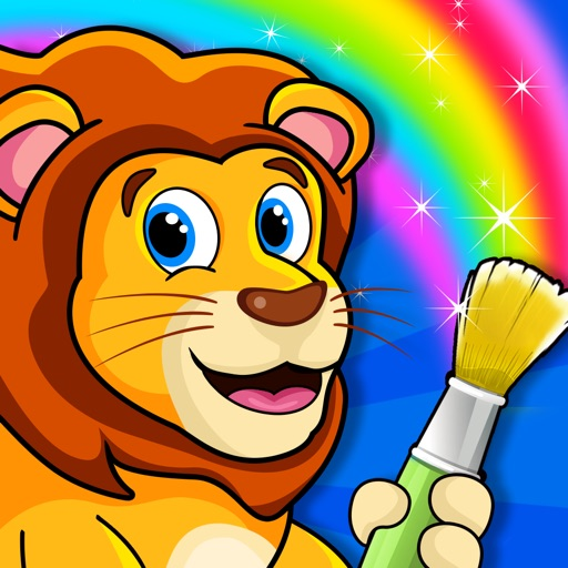 Kids Doodle Coloring Book - Paint And Draw