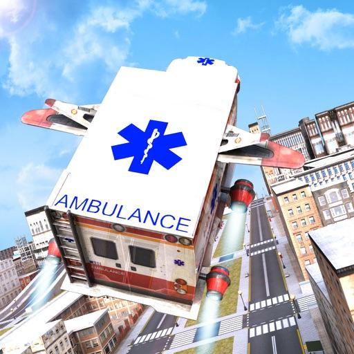 Flying Ambulance Driving simulator iOS App