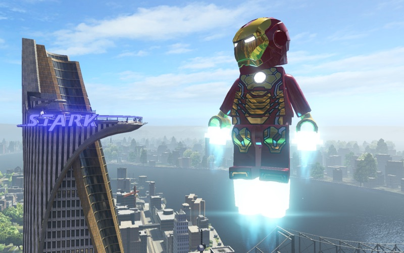 Screenshot #1 for LEGO Marvel Super Heroes