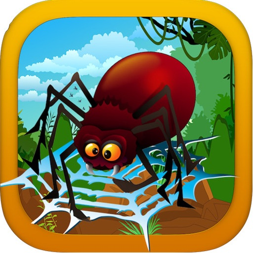 Spidery Antics - Slingshot Tactics for Catching Prey! Free Icon